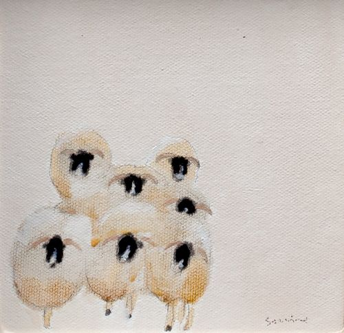 Incoming Sheep | Andrew Squire