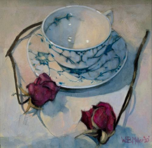 Teacup and Roses | William Brian Miller