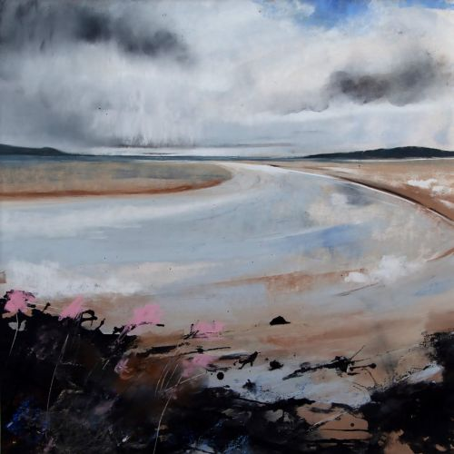 Low Tide Channel Luskintyre | Helen Fryer