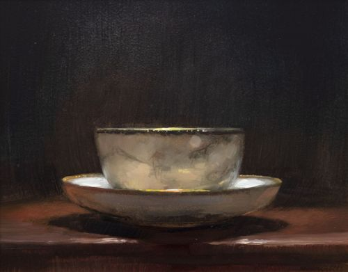 teacup and saucer II | andrew sinclair