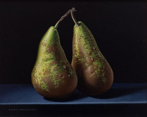 Two Washed Pears | Brian Henderson