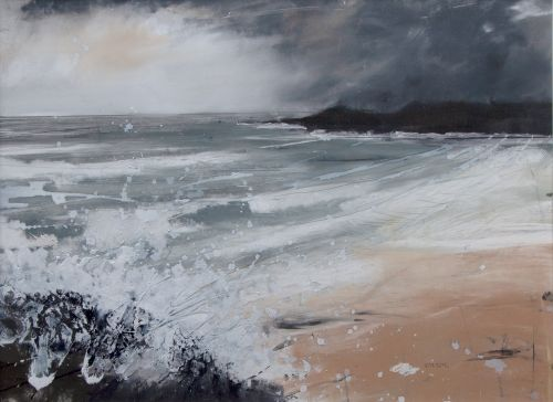 Waves Breaking, Camusdarach | Helen Fryer