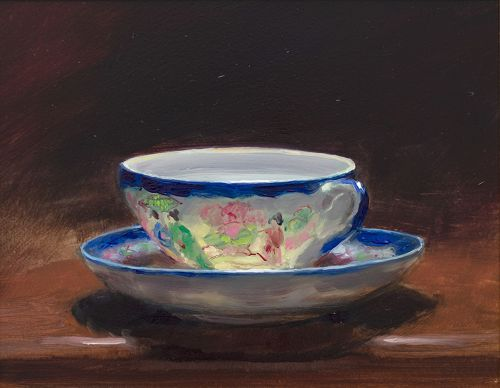 teacup and saucer IV | andrew sinclair