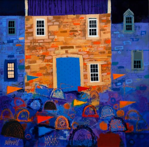 Lobster Pots at the Blue Door | George Birrell