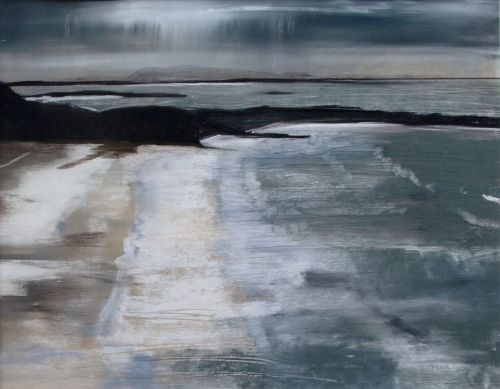 January Evening Camusdarach | Helen Fryer