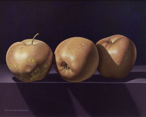 Three Russet Apples | Brian Henderson