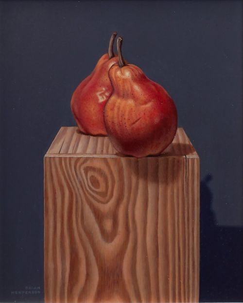 Two Pears On a Box | Brian Henderson