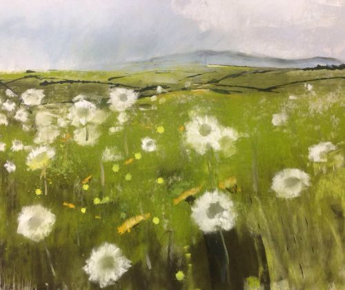 Binsey Through Dandelion Clocks | Helen Fryer