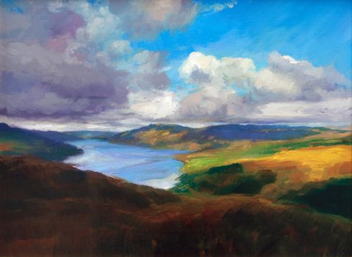 Passing Shadows Over Ardnamurchan | Andrew Sinclair