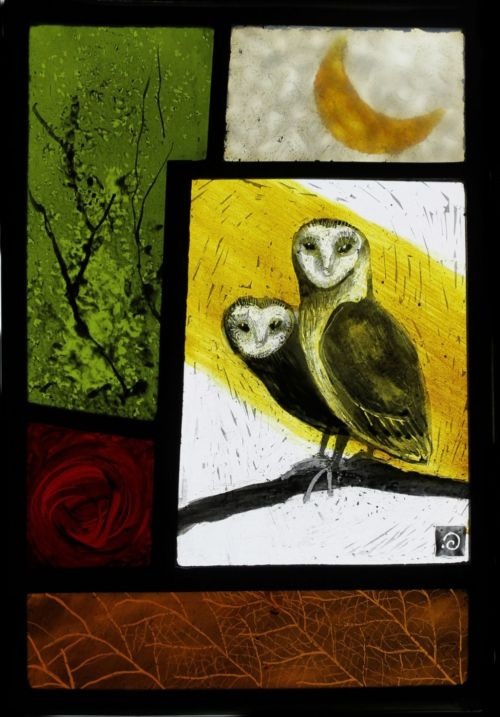two owls | ise stumpff