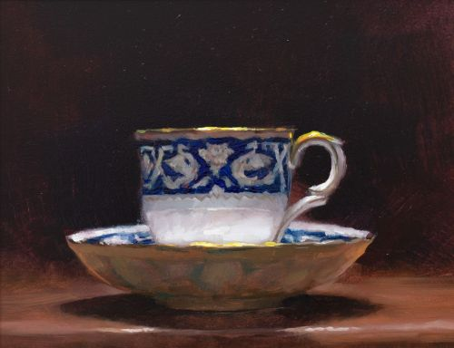teacup and saucer | andrew sinclair