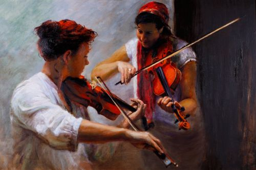 Duelling Fiddles | Andrew Sinclair