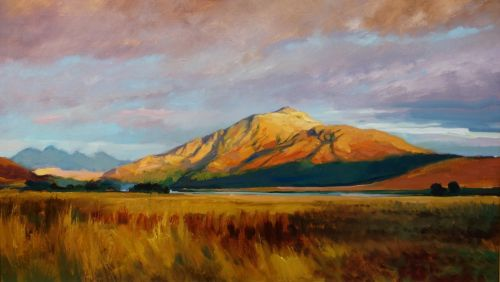 Evening Light on Beinn Resipol from Dalnabreac | Andrew Sinclair