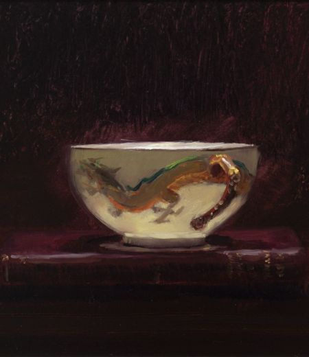 dragon cup and book | andrew sinclair